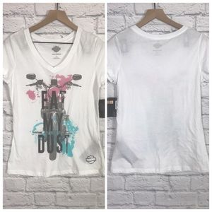 "Harley-Davidson NWT ""Eat My Dust"" T-Shirt Sz M"
